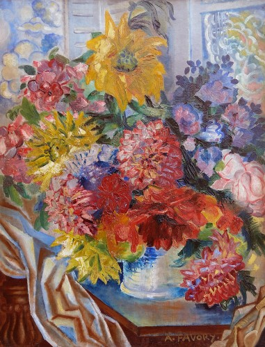 The Bouquet - A. Favory (1888-1937)