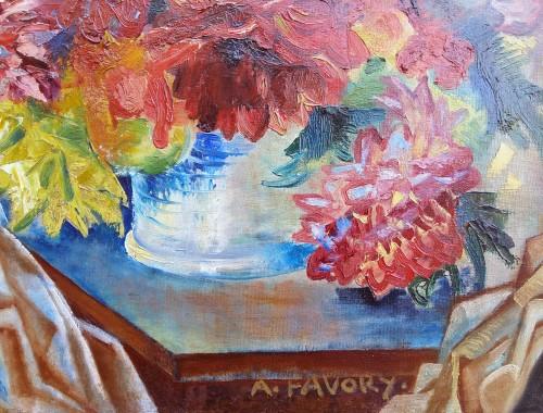The Bouquet - A. Favory (1888-1937) -