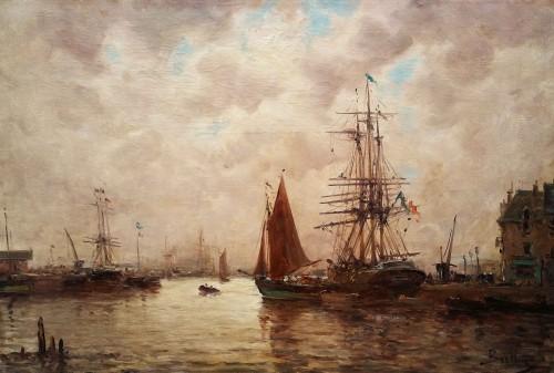Marine A - Auguste Berthon (1858-1917)