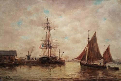 Marine B - Auguste Berthon (1858-1917)