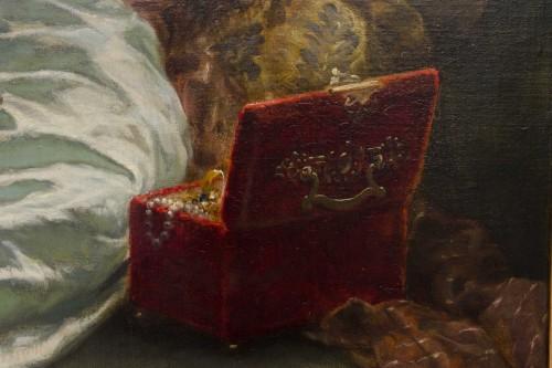 Napoléon III - The Jelewry box -  STEVENS Agapit (1848 -  1924)