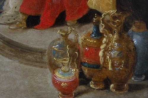 """Feast of Balthazar"" workshop of Frans Francken II (1581-1642) - Louis XIII"