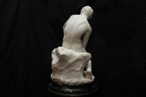 The sculptor - De CUYPER Floris (1875- 1965) - Sculpture Style Art nouveau