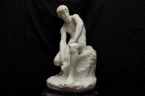 Sculpture  - The sculptor - De CUYPER Floris (1875- 1965)