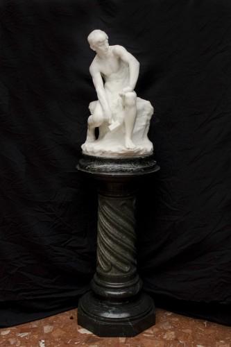 The sculptor - De CUYPER Floris (1875- 1965) - Art nouveau