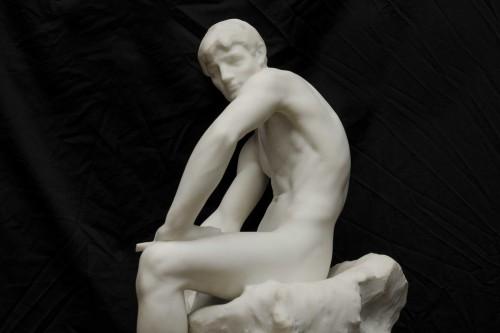 Antiquités - The sculptor - De CUYPER Floris (1875- 1965)