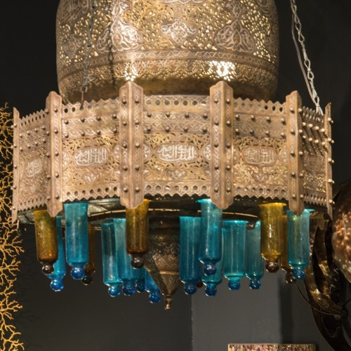 Oriental Chandelier - circa 1880 - Lighting Style