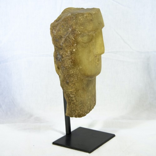 Ancient Head from Yemen  - Ancient Art Style