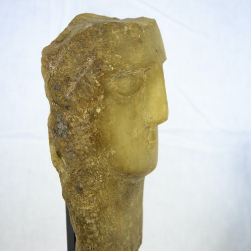 Ancient Art  - Ancient Head from Yemen