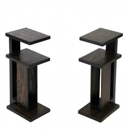 Paire of side tables - André Sornay - 1930