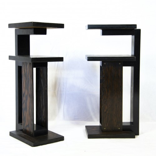 Paire of side tables - André Sornay - 1930 - Furniture Style
