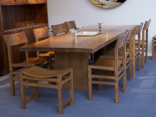 Dinning table by Giuseppe Rivadossi, circa 1970 - Furniture Style