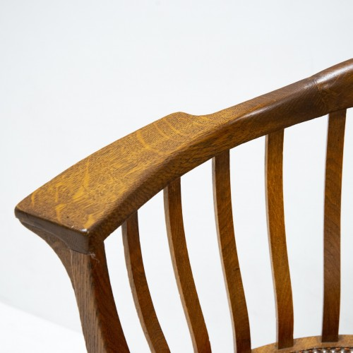 Furniture  - Gustave Serrurier Bovy (1858-1910) - Set of desk and chair