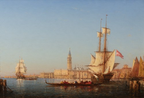 Felix ZIEM (1821-1911) - Venice - Paintings & Drawings Style