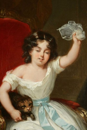 - Joseph Beaume ( 1796-1885 ) - Young boy and girl