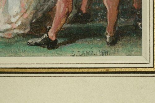 Eugene-Louis Lami (1800-1890) -