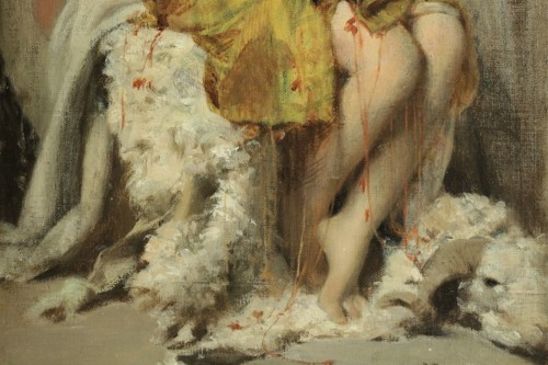 Henri Regnault (1843-1871) - Young Oriental woman -