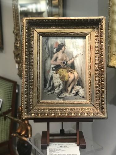 Antiquités - Henri Regnault (1843-1871) - Young Oriental woman