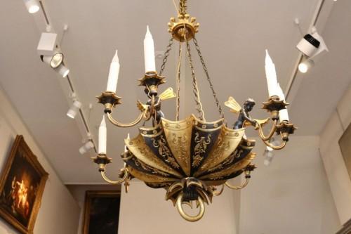 Directoire period wooden chandelier - Directoire