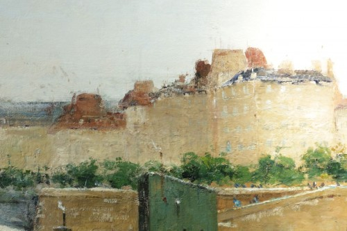 Antiquités - Eugène Giraud (1849 - 1937) - Panoramic view of Paris