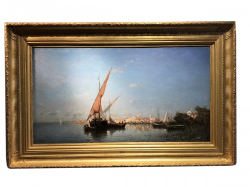 The Martigues - Adolphe APPIAN (1818 – 1888)