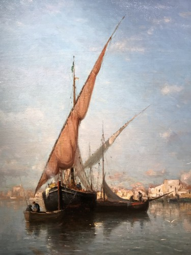 Paintings & Drawings  - The Martigues - Adolphe APPIAN (1818 – 1888)