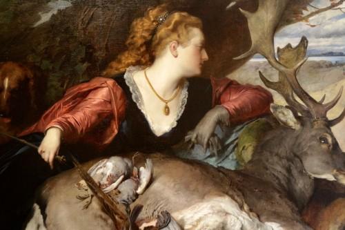 Ferdinand KELLER (1842-1922) - Diana the Huntress - Paintings & Drawings Style