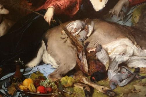 Paintings & Drawings  - Ferdinand KELLER (1842-1922) - Diana the Huntress