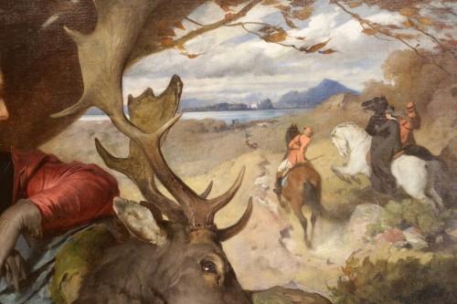 19th century - Ferdinand KELLER (1842-1922) - Diana the Huntress