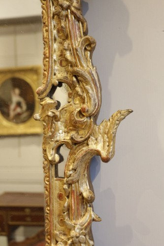 A French Rgence Giltwood Mirror -