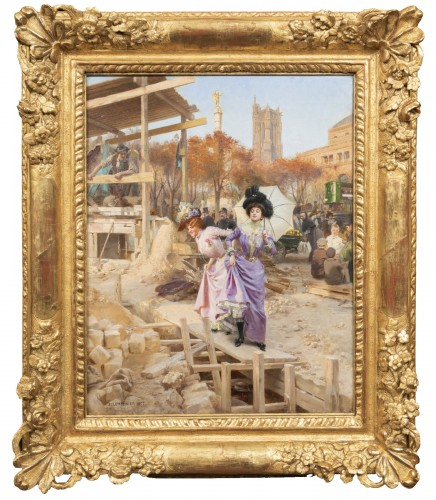 Basile Lemeunier (1852-1922) - Constructing the Metropolitan (Paris)