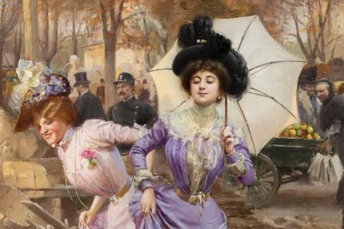 Art nouveau - Basile Lemeunier (1852-1922) - Constructing the Metropolitan (Paris)