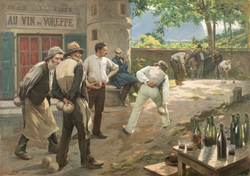 Jacques Gay (1851-1925) - Au vin de Voreppe
