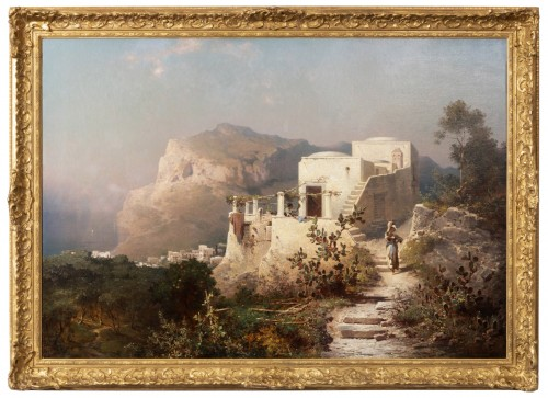 Franz Richard Unterberger (1837-1902) - Capri