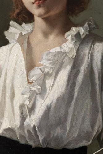 """""""La Leçon d'escrime"""" par Alcide-Théophile Robaudi. - Art nouveau"""