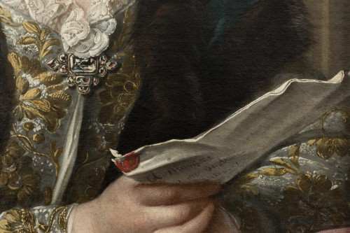 Presumed portrait of Marie Brûlart de La Borde duchesse de Luynes (vers 1684-1763) - Louis XV