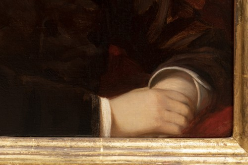 Nathaniel Sichel - Portrait of a young girl -