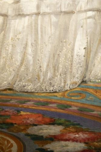 Joseph-Désiré Court (1797 - 1865) - Portrait of Madame de Villeneuve Bargemon and her daughter -