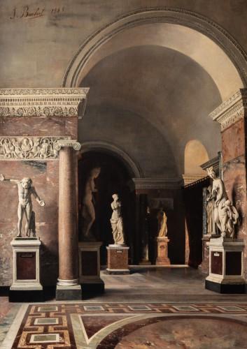 Julie Buchet (1847-1921), Gallery of the Venus of Milo /  - Paintings & Drawings Style