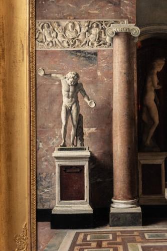Paintings & Drawings  - Julie Buchet (1847-1921), Gallery of the Venus of Milo /