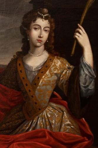 Senén Vila (1640-1708) - Portrait of a woman - Paintings & Drawings Style