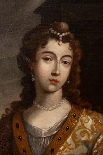 Paintings & Drawings  - Senén Vila (1640-1708) - Portrait of a woman