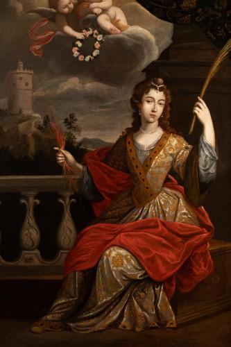 17th century - Senén Vila (1640-1708) - Portrait of a woman