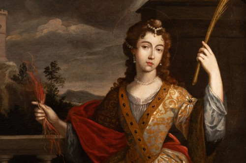 Senén Vila (1640-1708) - Portrait of a woman -