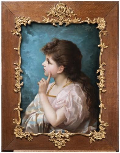 Adolphe BARNOIN - Meditation, 1893