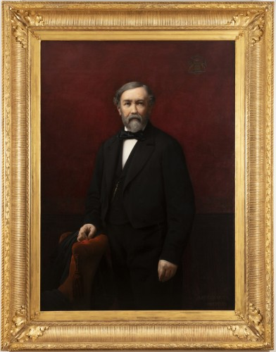 Marie jules QUANTIN (1810-1884) - Portrait of Louis de Rochechouart
