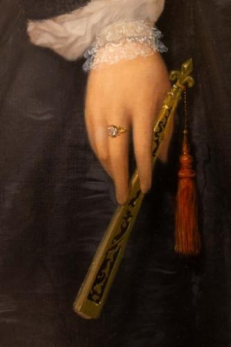 Marie jules QUANTIN (1810-1884)  - Portrait of Marie clementine Chevigné -