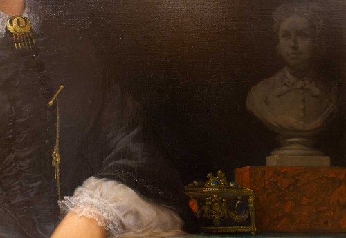 - Marie jules QUANTIN (1810-1884)  - Portrait of Marie clementine Chevigné