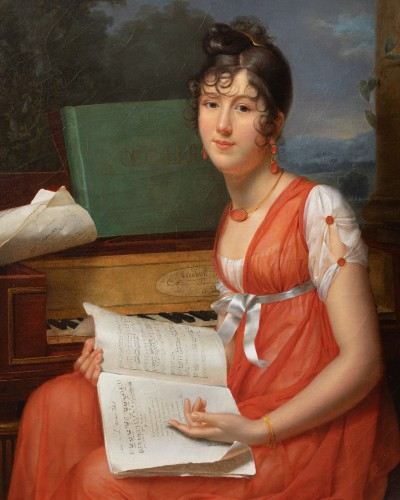 Adèle ROMANY (1769 – 1846) - Paintings & Drawings Style
