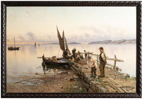 Frithjof Smith-Hald (Kristiansand (Norvège) 1846 - Chicago (Etats-Unis) 1903
